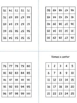 Practicar los números - Cuenta los números - Contando