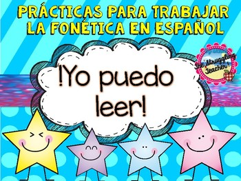 Prácticas Para Trabajar la Fonética en Español Spanish Phonics!!!!!