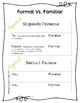 Prácticas de Formal Vs. Familiar/Actividades para Cuadernos Interactivos
