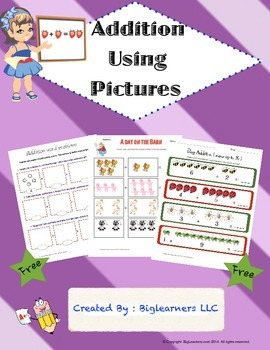 Practice Addition Using Pictures