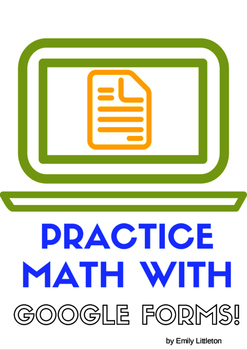 Practice Addition with Google Forms