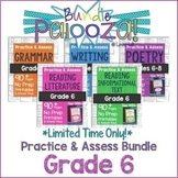 Practice & Assess BUNDLE for GRADE 6 ELA: Reading, Writing, Grammar, Poetry