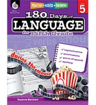 Practice, Assess, Diagnose: 180 Days of Language for Fifth Grade
