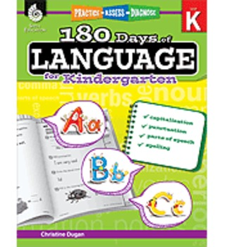 Practice, Assess, Diagnose: 180 Days of Language for Kindergarten