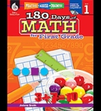 Practice, Assess, Diagnose: 180 Days of Math for First Grade (Physical Book)