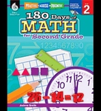 Practice, Assess, Diagnose: 180 Days of Math for Second Grade (Physical Book)