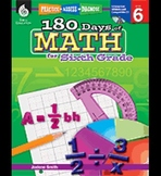 Practice, Assess, Diagnose: 180 Days of Math for Sixth Grade
