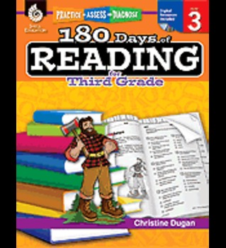 Practice, Assess, and Diagnose: 180 Days of Reading: Grade 3