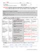 Practice Assessment for Cellular Respiration Equation