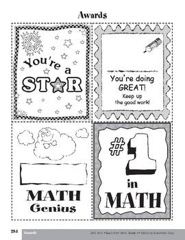 Practice Cards, Grade 4