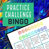 Practice BINGO for Instrumental Music of All Ages