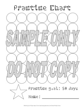 Practice Chart 50x