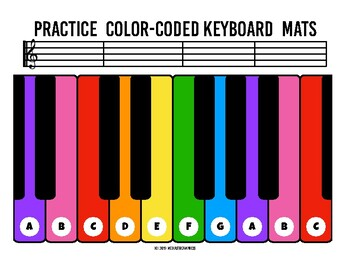 photo relating to Piano Keyboard Printable identify Coach Coloration Keyboard Mats -printable piano keyboard sheets for audio finding out