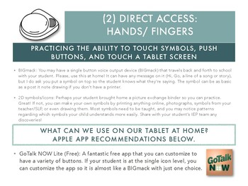 Practice Communicating at Home Without a Long-term AAC System