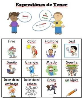 Practice Conjugating Tener - Spanish Language Development