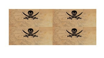 Practice Coordinates with a Pirate Treasure Hunt