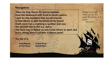 Practice Coordinates with a Pirate Treasure Hunt
