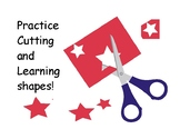 Practice Cutting and Learning Shapes