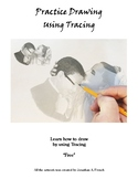Practice Drawing Using Tracing