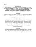 Practice Editing Using Student Journals
