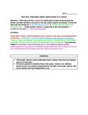Practice Embedding Direct Quotations