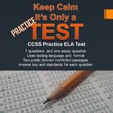 Practice English Language Arts Test