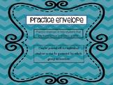 Practice Envelope