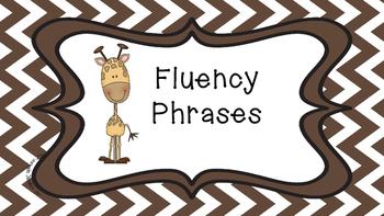 Practice Fluency Phrases 1