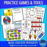 Practice Music Games (Reproducible)