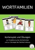 Practice German Vocabulary: Word Family Card Game