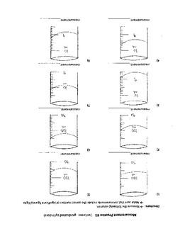 Practice Graduated Cylinder Measurement Worksheet