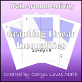 Graphing Linear Inequalities - Walk-around Activity - Scavenger Hunt - Level 2
