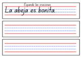 Practice Handwriting in Spanish