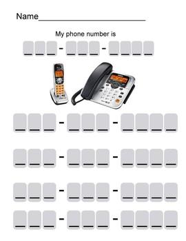 Practice Home Phone