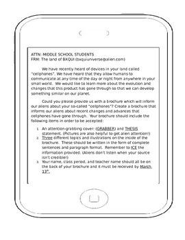 Practice Informative  Essay Brochure