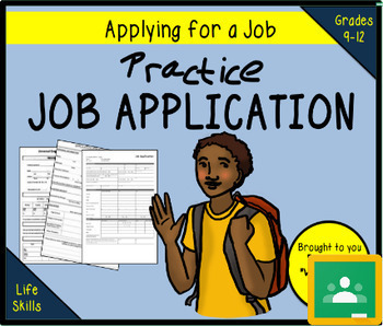 Practice Job Application - TRADER MOE'S  (Print/Google)