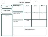 Practice Journal/Chart