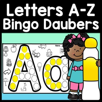 Letter Activities with Daubers {26 Pages A-Z!}