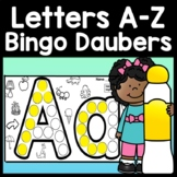 Alphabet Activities and Letter Recognition with Daubers {2