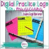 Practice Logs - Digital Version for Google Slides