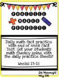 Practice Makes Perfect: Math Fact Fluency #3