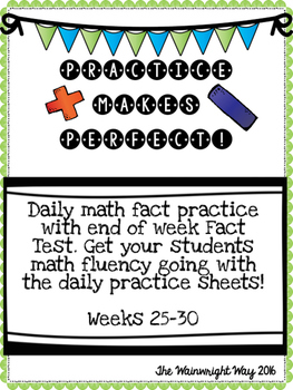 Practice Makes Perfect: Math Fact Fluency #5