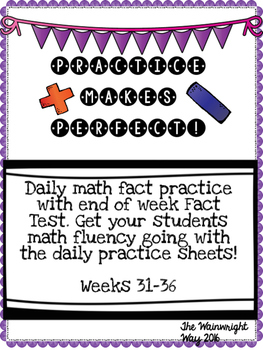 Practice Makes Perfect: Math Fact Fluency #6