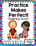 Beginning Sound Printables Kindergarten and Grade 1