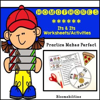 Practice Makes Perfect: It's vs. Its Activities and Worksheets