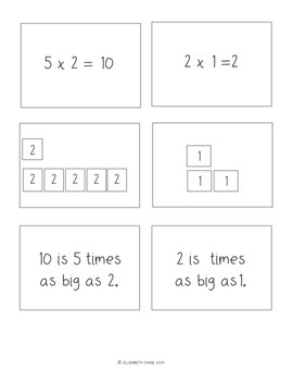 Practice Makes Perfect - Multiplicative Comparisons