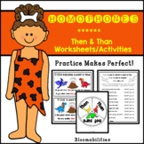 Practice Makes Perfect: Then vs. Than Activities and Worksheets
