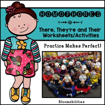 Practice Makes Perfect: There, Their, They're Activities and Worksheets