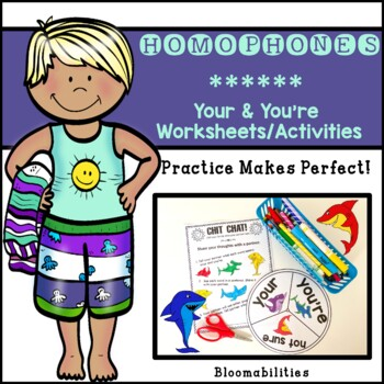Practice Makes Perfect: Your and You're Activities and Worksheets