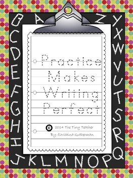 Practice Makes Writing Perfect